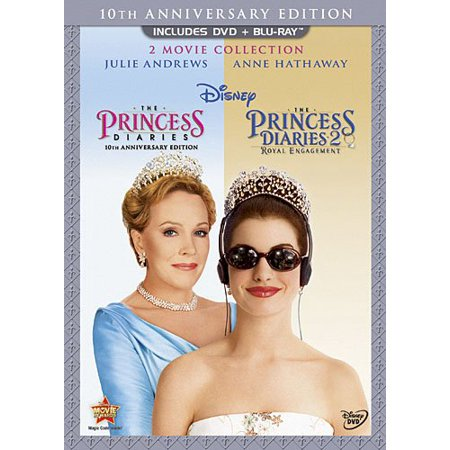 The Princess Diaries 2 Movie Collection (10th Anniversary Edition) (DVD + Blu-ray) (Princess Movie Collection)