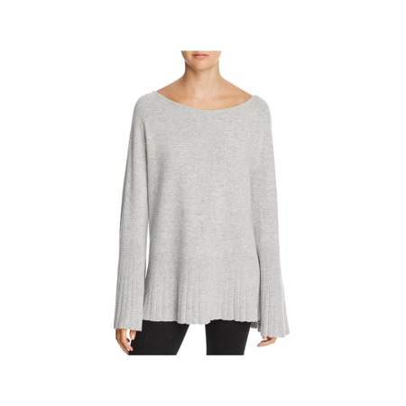Elizabeth and James Womens Clarette Boatneck Bell Sleeves Pullover Sweater