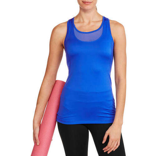 Danskin Now Women's Active Mesh Tank with Bra