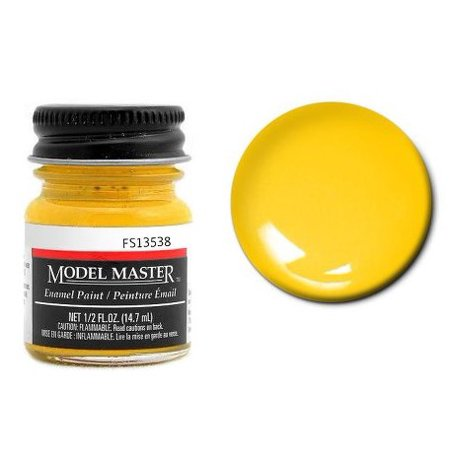 - Testor Corp 704-1707 Model Master FS Enamels Chrome Yellow (FS 13538)