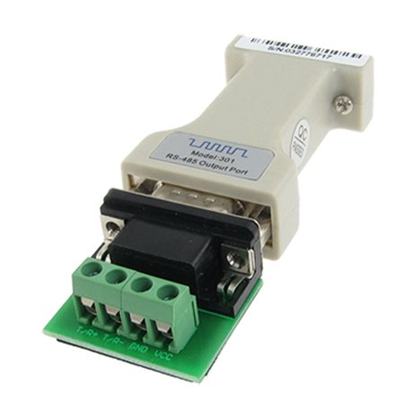 Data Communication Interface Converter Wiring Post Connector RS-232 to RS-485