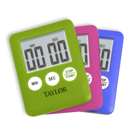 Taylor Mini Digital Kitchen Timer, Assorted Colors](Halloween Kitchen Timer)