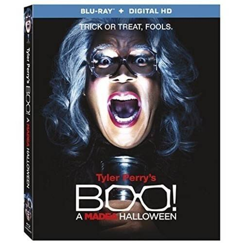 Tyler Perry's Boo! A Madea Halloween (Blu-ray + Digital HD) (Widescreen)