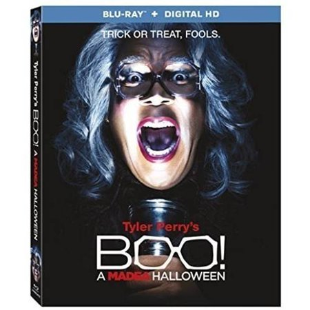 Tyler Perrys Boo  A Madea Halloween  Blu Ray   Digital Hd   Widescreen