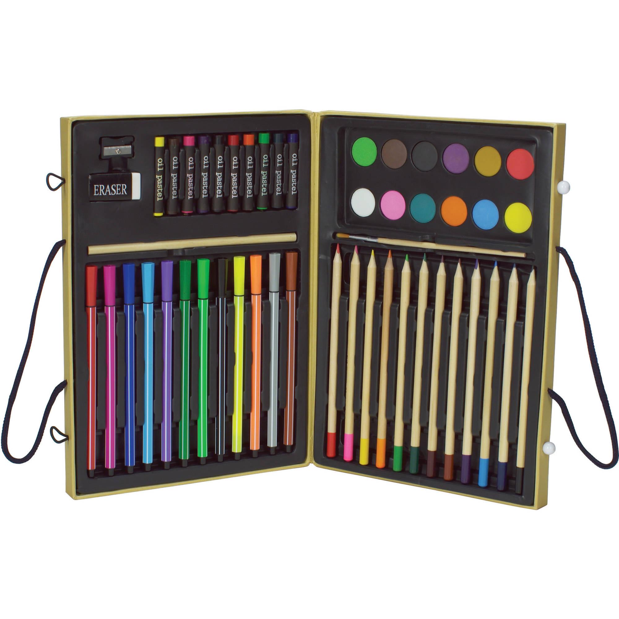 colorama 51 piece coloring kit walmartcom