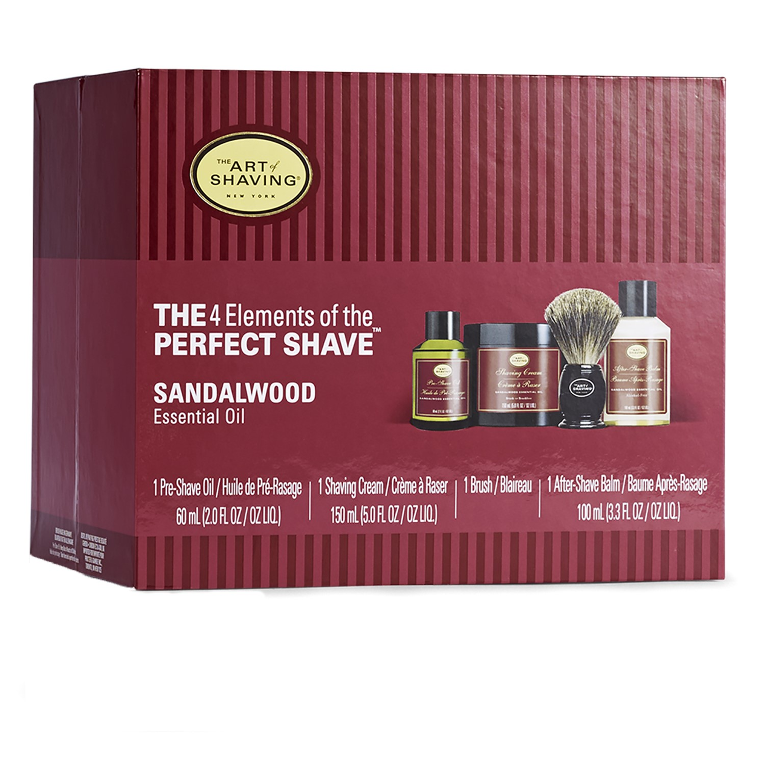 The Art of Shaving 4 Elements of the Perfect Shave Kit, Sandalwood