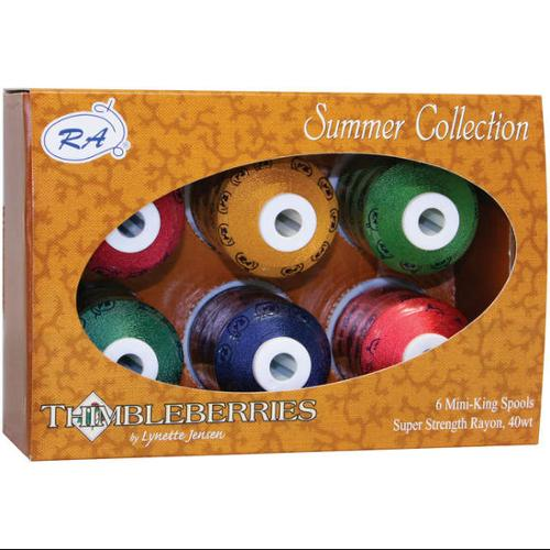 Thimbleberries Rayon Thread Collections 1000 Yards 6/Pkg-Summer