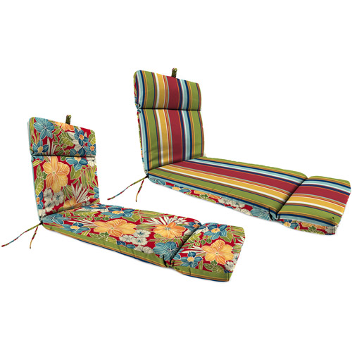 Jordan Manufacturing Outdoor Patio Chaise Cushion