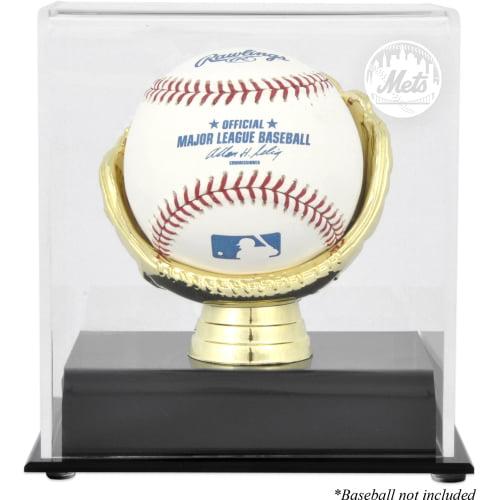 New York Mets Fanatics Authentic Gold Glove Single Baseball Logo Display Case - No Size