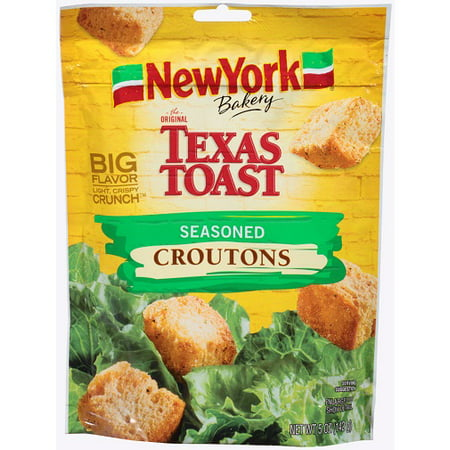 (2 Pack) New York Brand The Original Texas Toast Seasoned Croutons, 5 oz