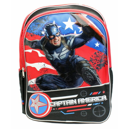 Marvel's Captain America: The Winter Soldier Full Size Backpack