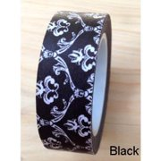 Love My Tapes Washi Tape 15mmX10m-Black Damask