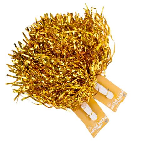 Football Or School Team Spirit Cheer Metallic 10