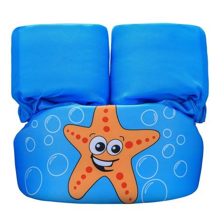 ?Follure?Puddle Jumper Kids Life Jacket Children Swim Aid Vest Trainer Life Vest thumbnail