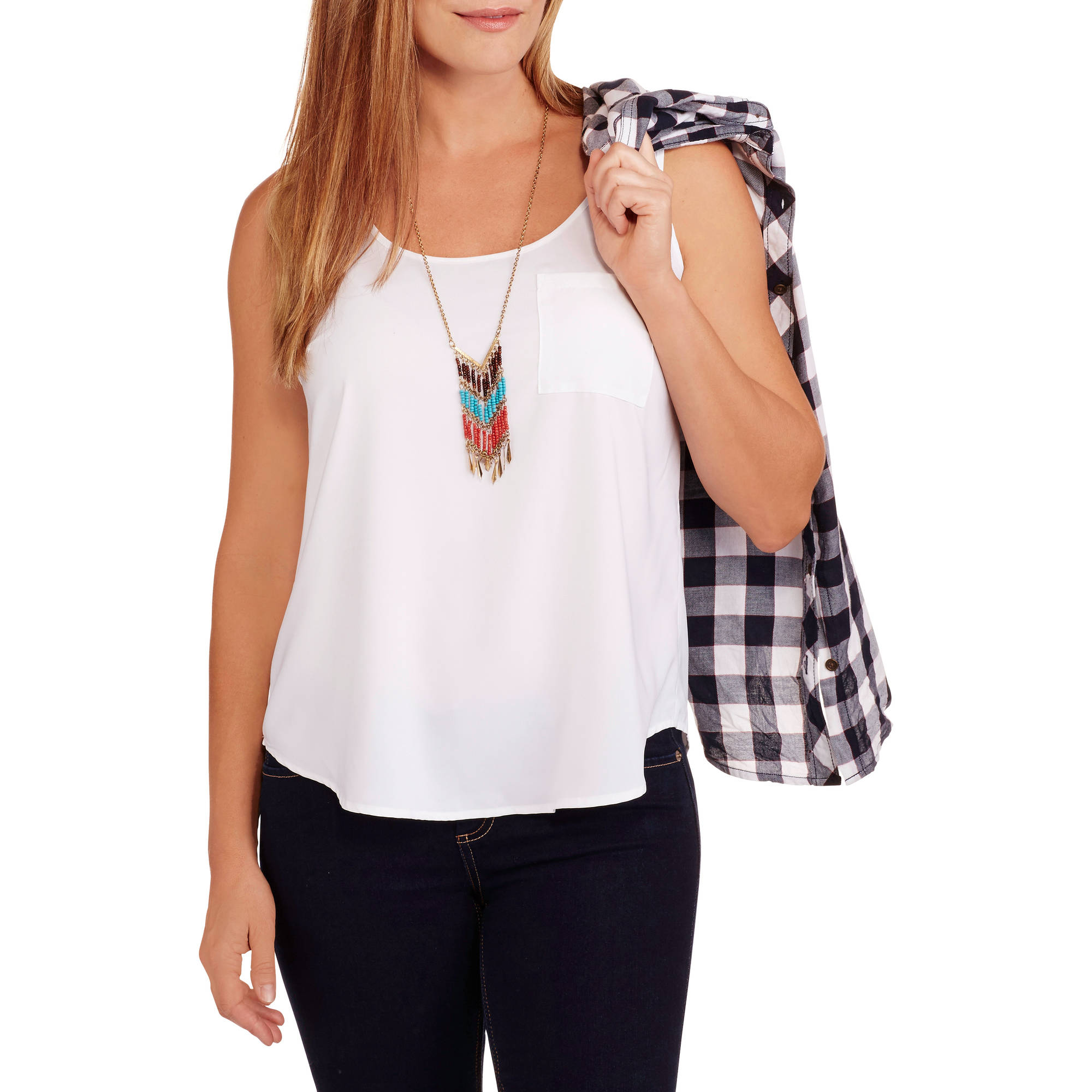 Faded Glory Women's Woven Tank