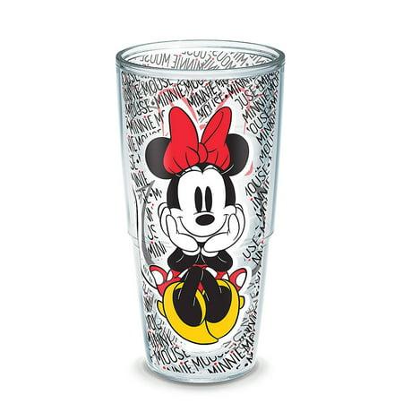24oz Tervis Disney Minnie Mouse Name Pattern Tumbler - Disney Tumbler