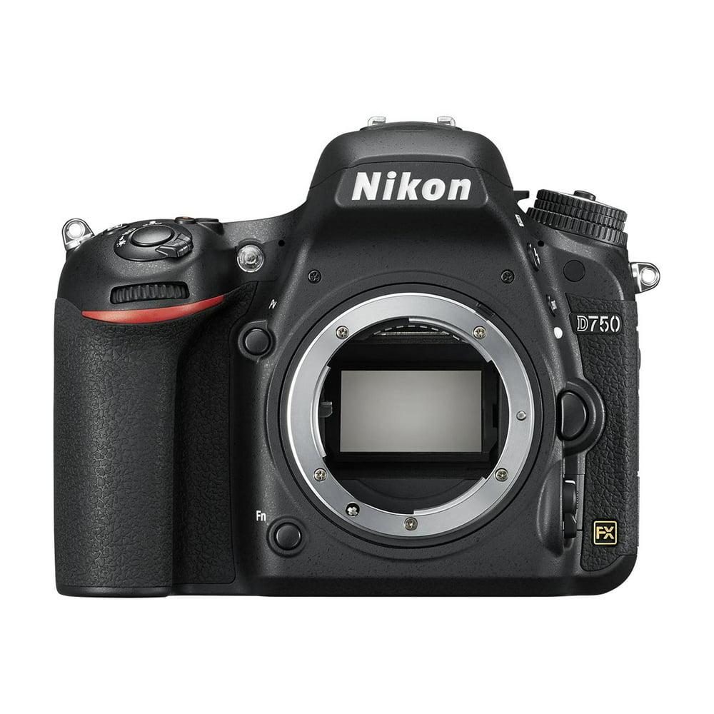 Nikon D750 - Digital camera - SLR - 24.3 MP - Full Frame - body only - Wi-Fi