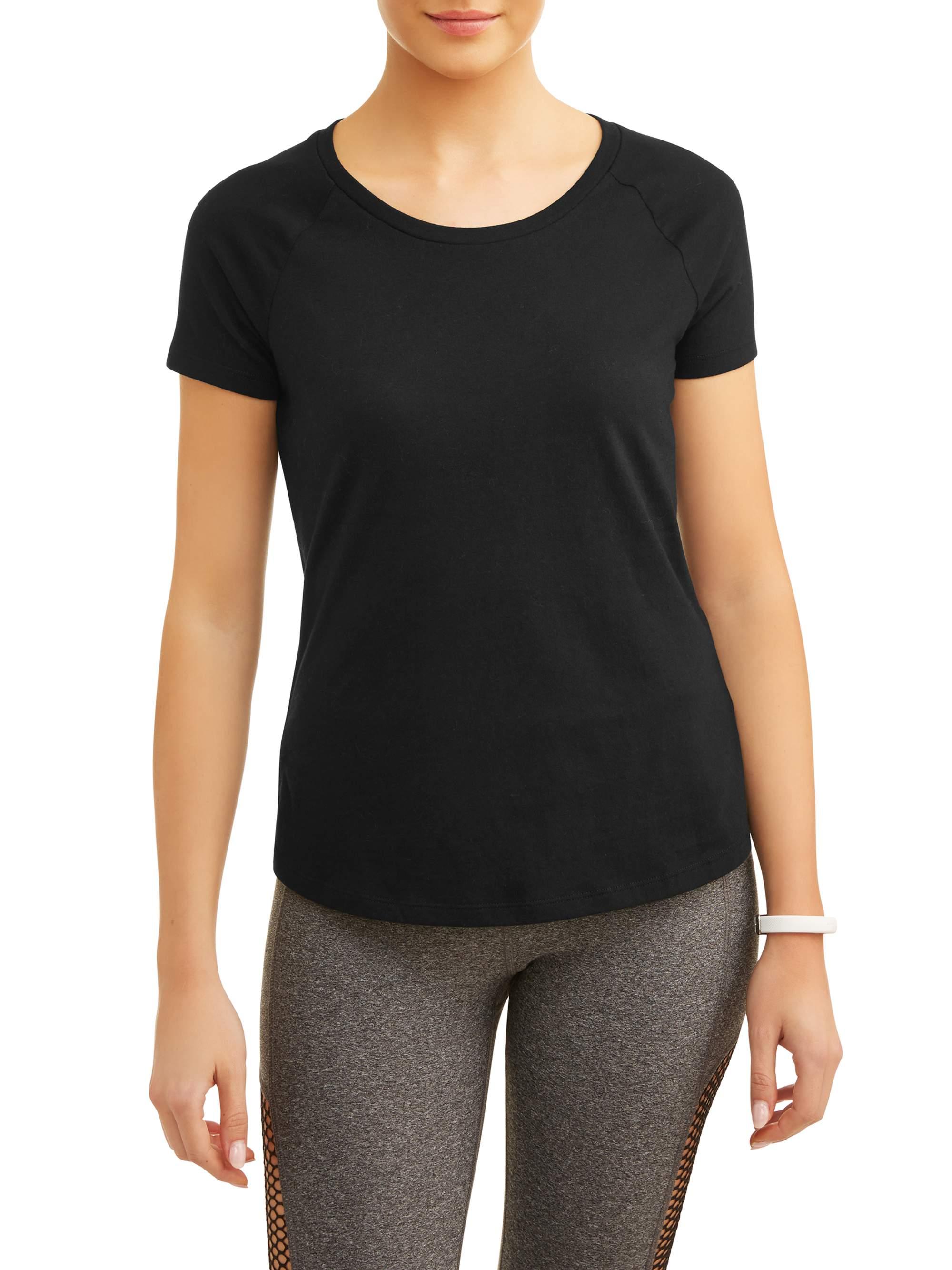 Women's Core Active Scoopneck Short Sleeve Raglan T-Shirt