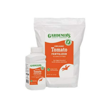 GSC Organic Tomato Fertilizer, 1 Lb., Slow release (5-6-5) granular fertilizer By Gardeners Supply
