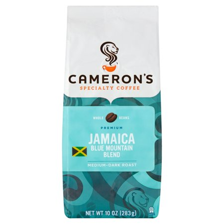 Camerons Specialty Coffee Jamaica Blue Mountain Blend Whole Bean, 10oz