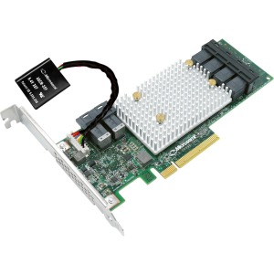 Microsemi SmartRAID 3154-8i8e Adapter w/ Integrated Flash Backup - 12Gb/s SAS