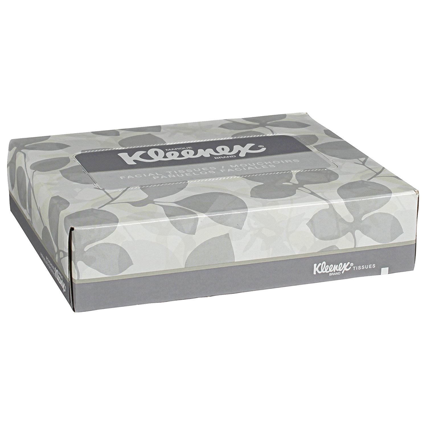 Kleenex Facial Tissue (21195), Flat Tissue Boxes, 80 Junior Boxes / Case, 40 Tissues / Box, Ship from America