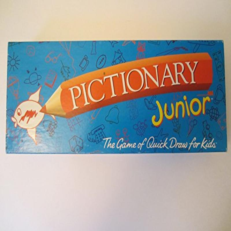 Pictionary Junior; the Game of Quick Draw (1999 Vintage) by Hasbro
