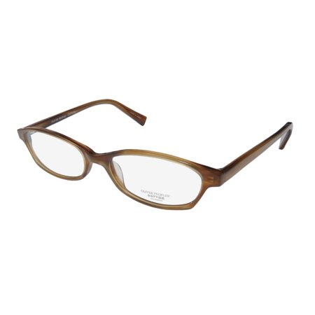 New Oliver Peoples Raquel Womens/Ladies Cat Eye Full-Rim Brown Must Have Light Style Frame Demo Lenses 51-16-135 (Oliver Peoples Optical)