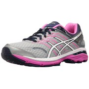 ASICS Women's GT-2000 5 Running Shoe, Mid Grey/White/Pink, 6.5 2A(N) US