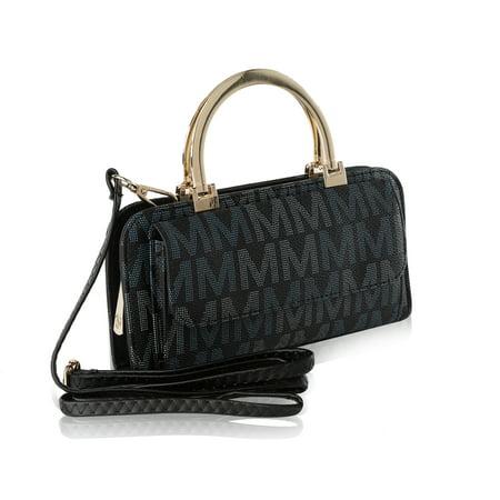 MKF Collection Donatella M Signature Wallet Crossbody Bag by Mia K. Farrow - Purse Wallet