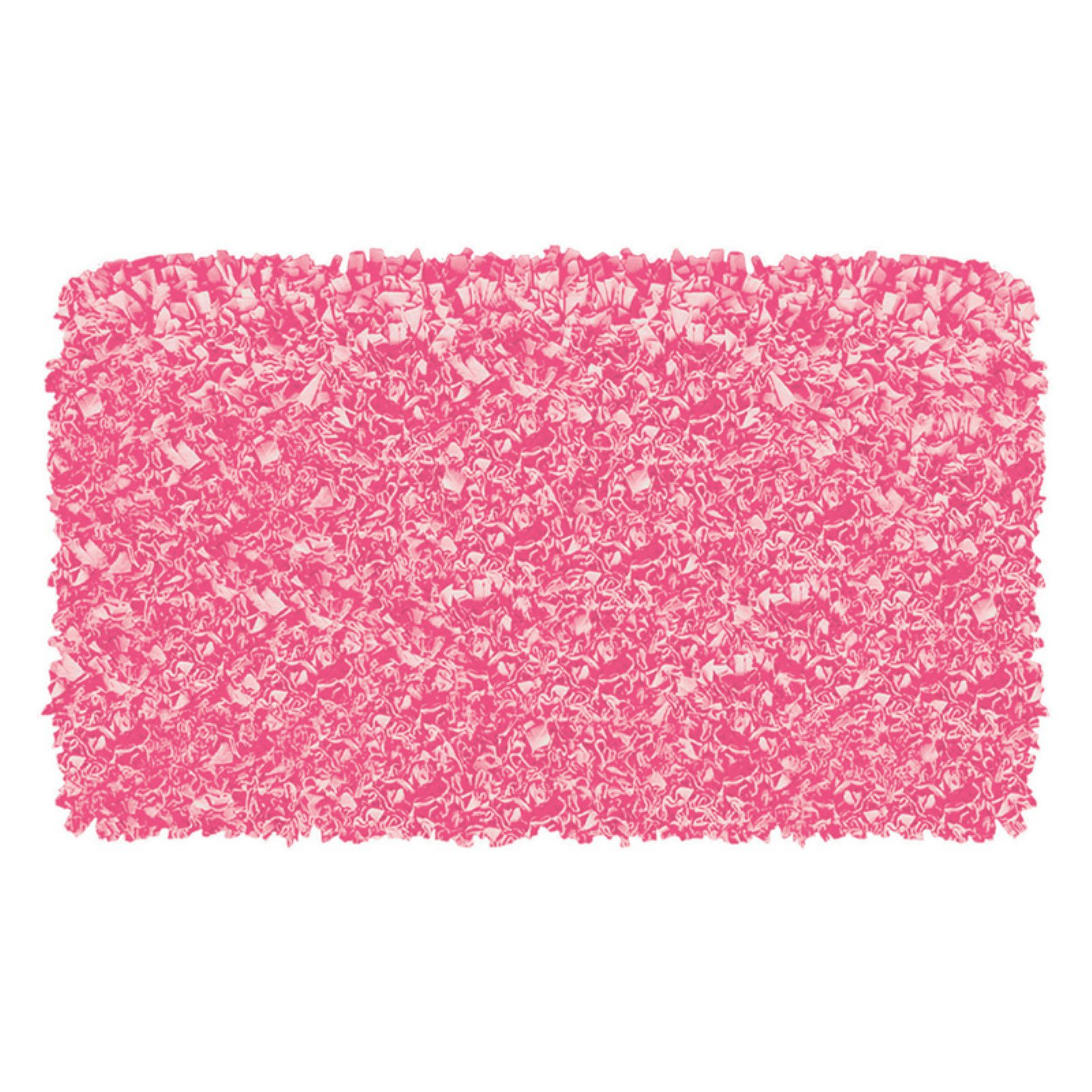 The Rug Market Shaggy Raggy Bubble Gum Area Rug, Size 2.8' x 4.8'