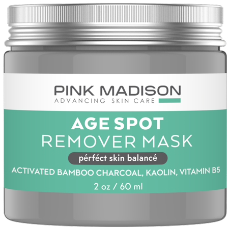 Dark Spot Corrector Age Spot Remover Mask. Best Age Spot Mask for Face, Hands, Body No Hydroquinone 2 oz (Twoface Mask)