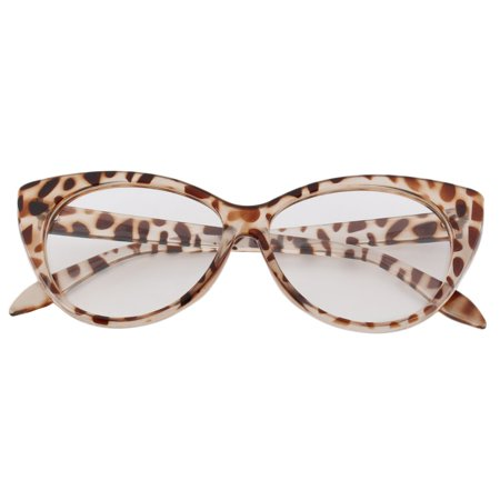 Women Lightweight Cat Eye Design Retro Sunglasses Women Vintage Sun Glasses Eyewear Fashionable Design Outdoor Sunglasses Leopard Print