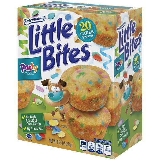 Entenmanns Little Bites Party Cake Mini Muffins 5 Pouches