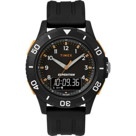 Timex TW4B167009J 40 mm Men Expedition Katmai Combo Resin Strap Watch, Black - image 1 de 1