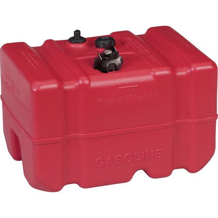 Moeller Low Perm Certified Fuel Tank 12 Gallon With 1 4  Fuel Pick Up Adapter And Mechanical Direct Sight Gauge