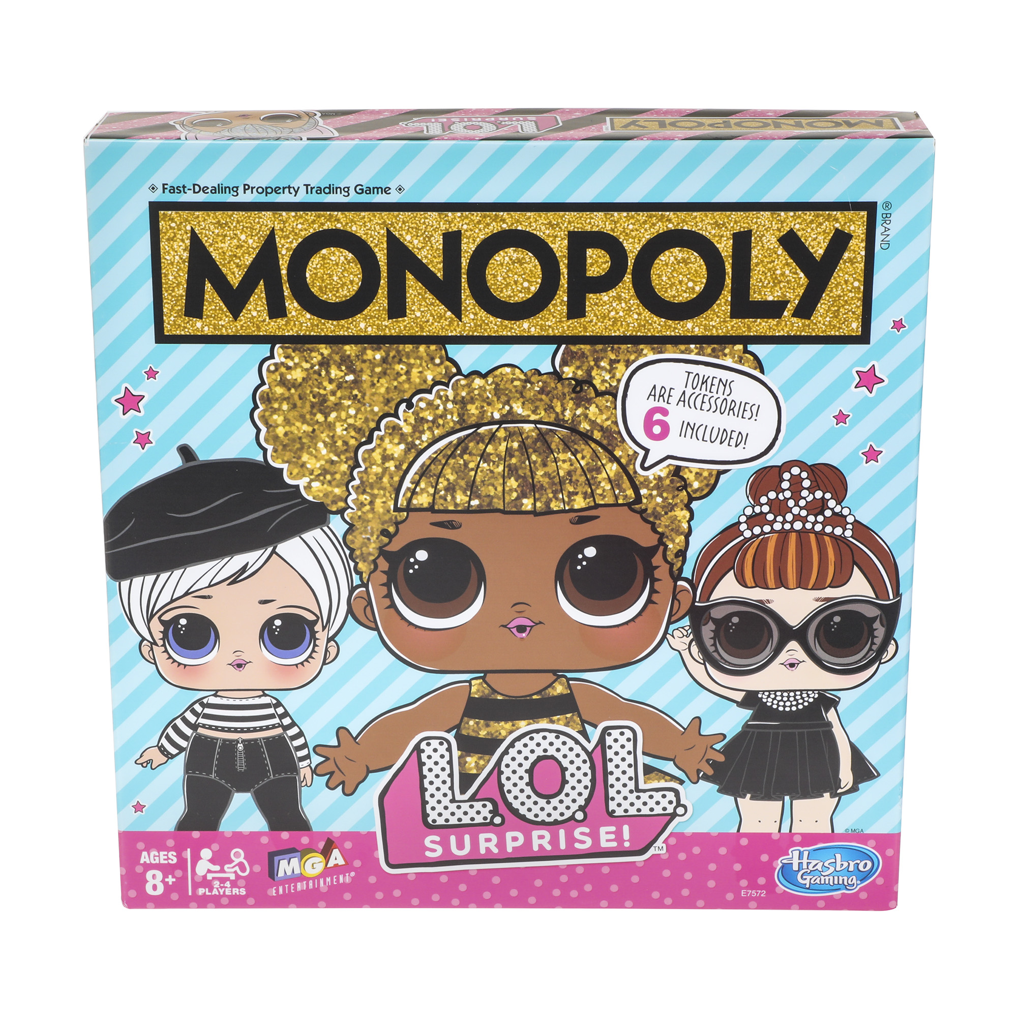 Monopoly L.O.L. SURPRISE! Edition Board Game For Kids Ages 8 and Up