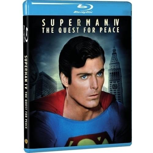 Superman IV (Blu-ray + Digital HD With UltraViolet) (With INSTAWATCH) (Walmart Exclusive) by Superman Videos