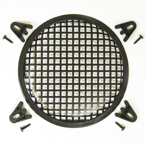 "8"" Speaker Steel Waffle Screen Grill Kit WG8"
