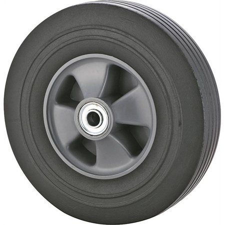 ProSource Hand Truck Tire, For Use With 001.1908 Hand Truck, Plastic Rim, Solid Rubber ()