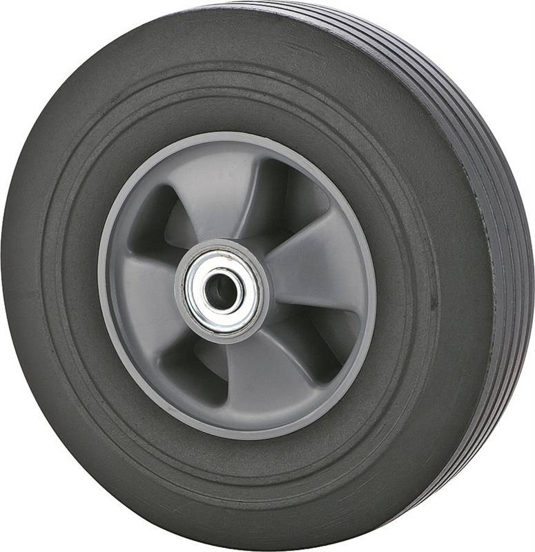 Prosource CW/W-005P Hand Truck Tire, For Use With 001.1908 Hand Truck, Plastic Rim, Solid Rubber