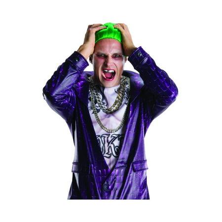 Suicide Squad Joker Teeth and Wig Costume Accessory Set](Joker Wig)
