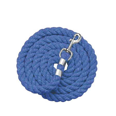 Perri's Cotton Lead (One Size, Royal -