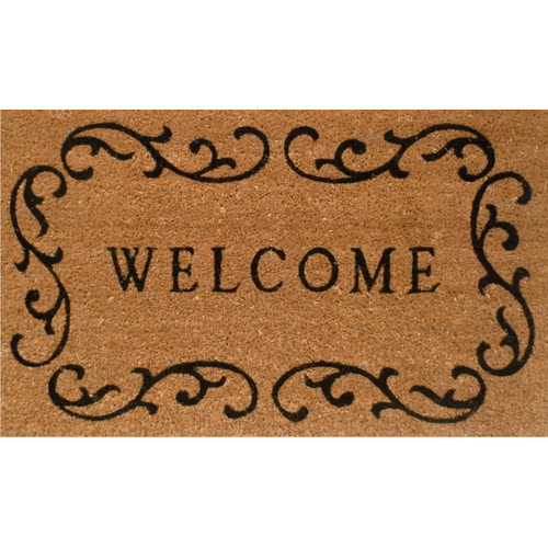 Home & More Curlicue Welcome Mat 29L 17W