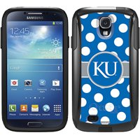 University of Kansas Polka Dots Design on OtterBox Commuter Series Case for Samsung Galaxy S4