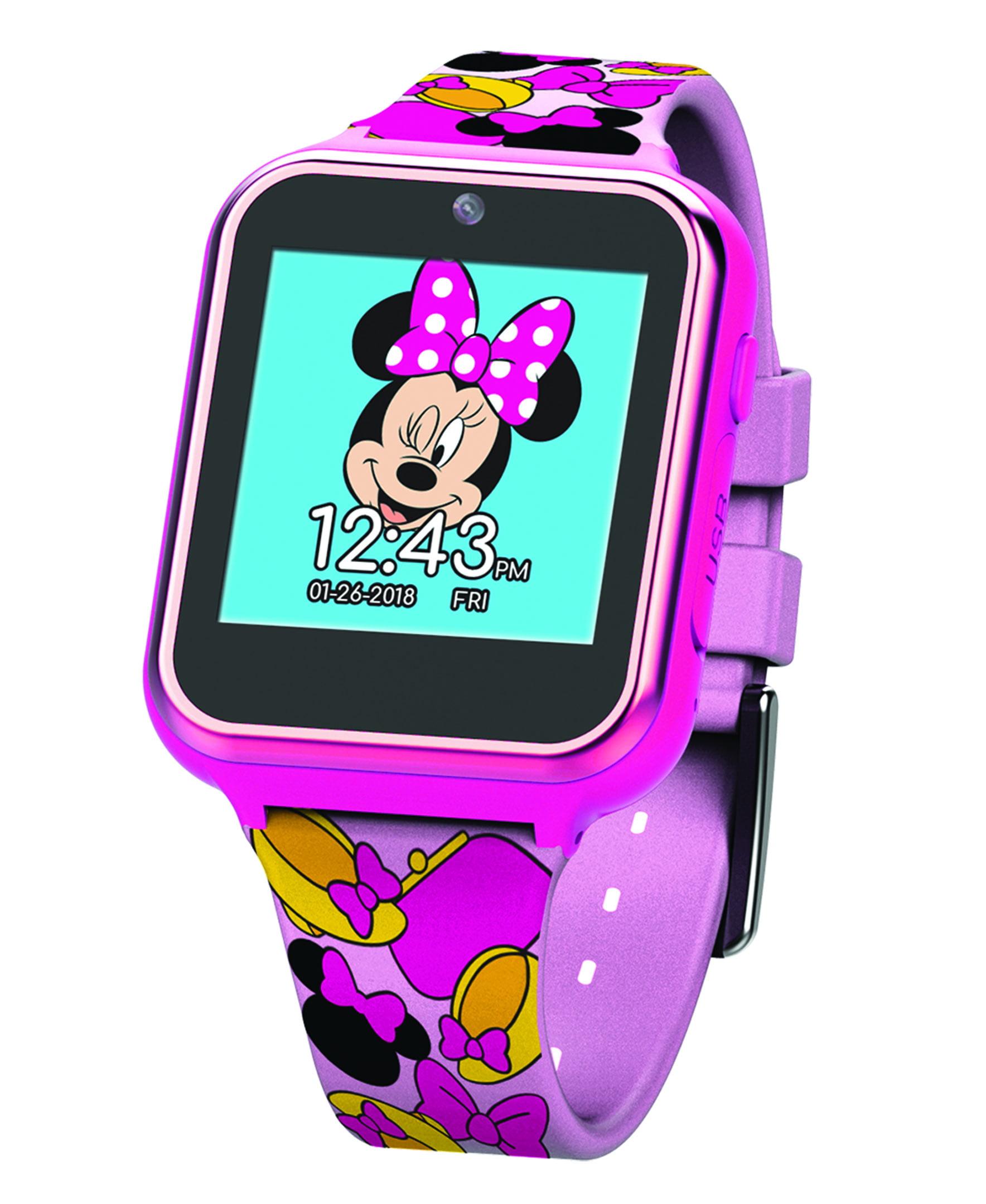 Minnie Mouse Minnie Mouse Itime Interactive Smart Kids Watch 40 Mm Walmart Com Walmart Com
