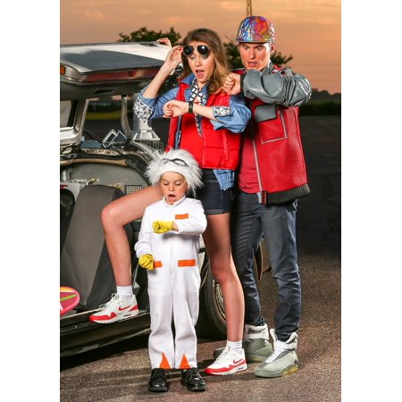 Back to the Future Toddler Doc Brown Costume - image 5 of 6