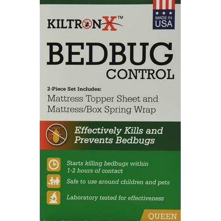 Bully Bed Bugs (KiltronX Bedbug Solution Mattress Topper Sheet & Mattress Wrap Set, 1 Each )