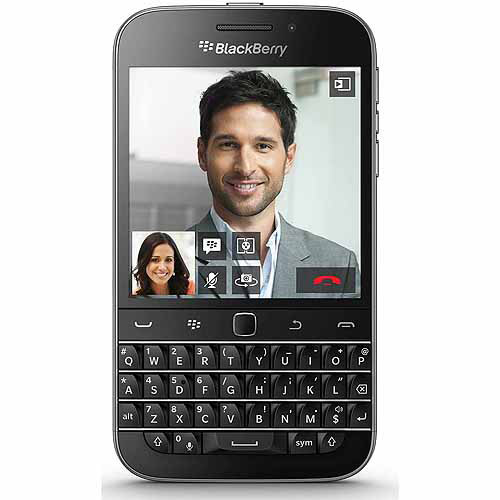 BlackBerry Classic 16GB GSM 4G LTE Smartphone (Unlocked), Black
