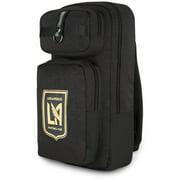 LAFC New Era Slim Tech Backpack - Heathered Black
